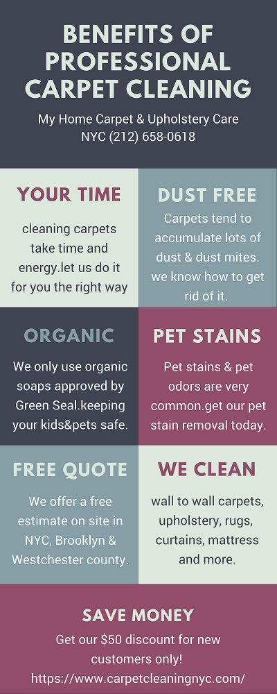 carpet cleaning NYC health benefits
