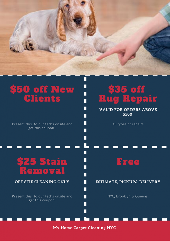Coupons- My Home Carpet & Upholstery Care